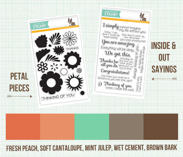 Lisa Spangler's palette for the Simon Says Stamp Summer Blog Hop