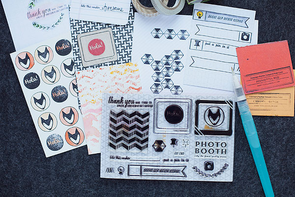 Inked class stamp set!