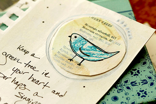 Journal page by Lisa Spangler