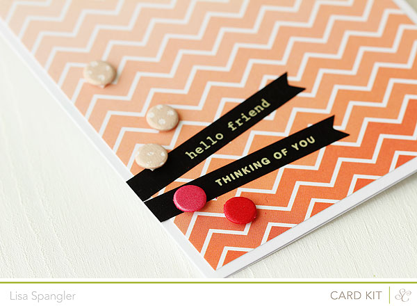 Ombre Hello Friend by Lisa Spangler for Studio Calico