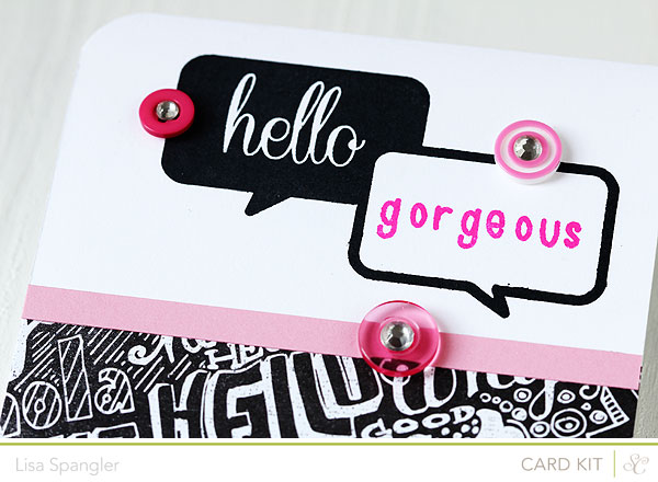 Hello Gorgeous by Lisa Spangler for Studio Calico