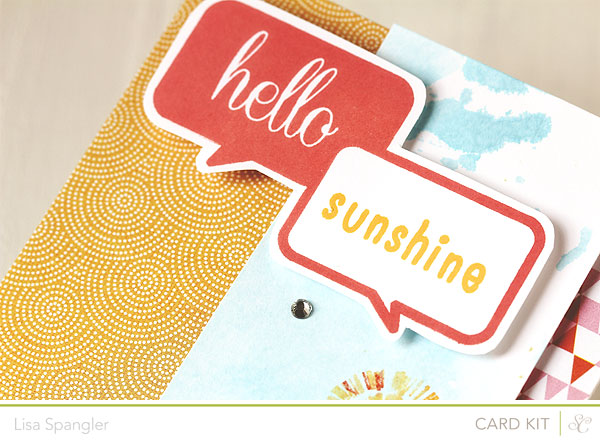 Hello Sunshine by Lisa Spangler for Studio Calico