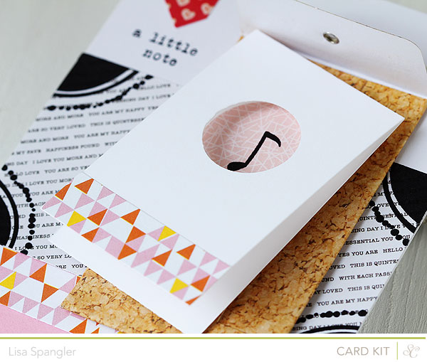 A Little Note by Lisa Spangler for Studio Calico