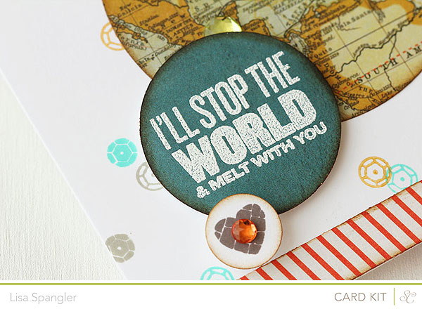 I'll Stop the World and Melt with You by Lisa Spangler for Studio Calico