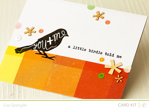 A Little Birdie Told Me by Lisa Spangler for Studio Calico