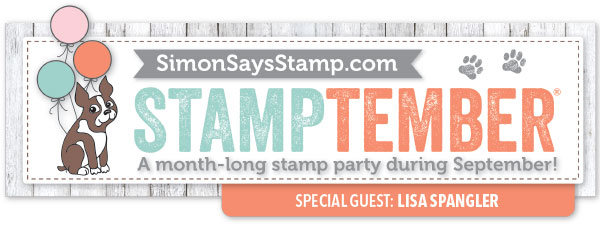 Simon Says Stamp Stamptember with Lisa Spangler