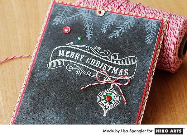 Merry Christmas by Lisa Spangler for Hero Arts
