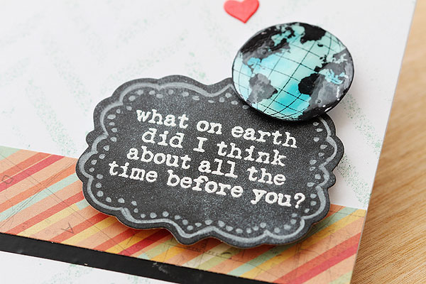 What on Earth by Lisa Spangler using OWH stamps