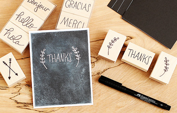 Lisa's handwritten messages by Lisa Spangler for Hero Arts