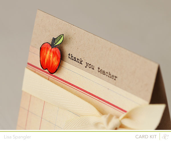 thank you teacher by Lisa Spangler for Studio Calico