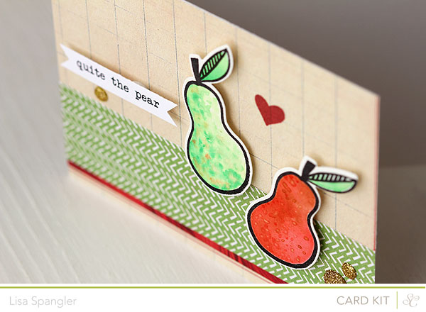 quite the pear by Lisa Spangler for Studio Calico