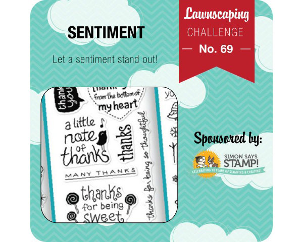 Lawnscaping sentiment challenge!