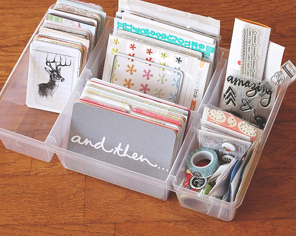 IKEA ANTONIUS basket insert for Project Life storage