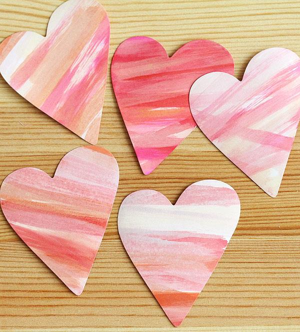 Dauber hearts by Lisa Spangler