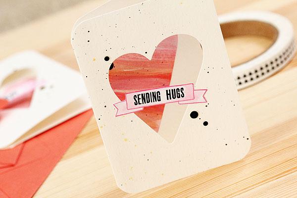 Sending Hugs by Lisa Spangler