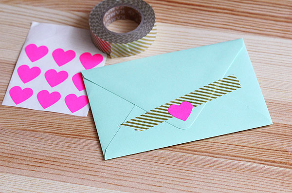 Mint envelope by Paper Source