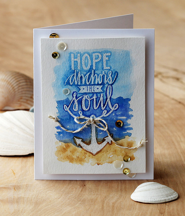 Hope Anchors by Lisa Spangler