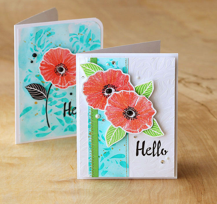 Poppies by Lisa Spangler