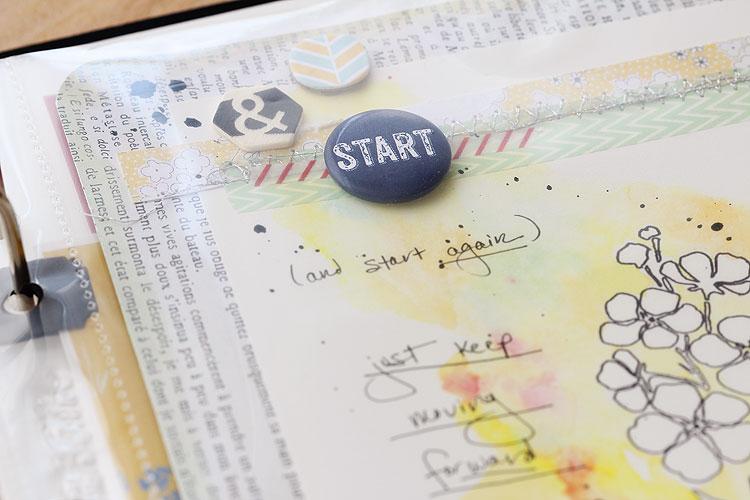 Start & restart by Lisa Spangler