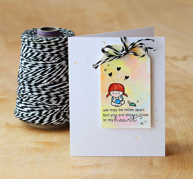 In my heart by Lisa Spangler for Mama Elephant/OWH