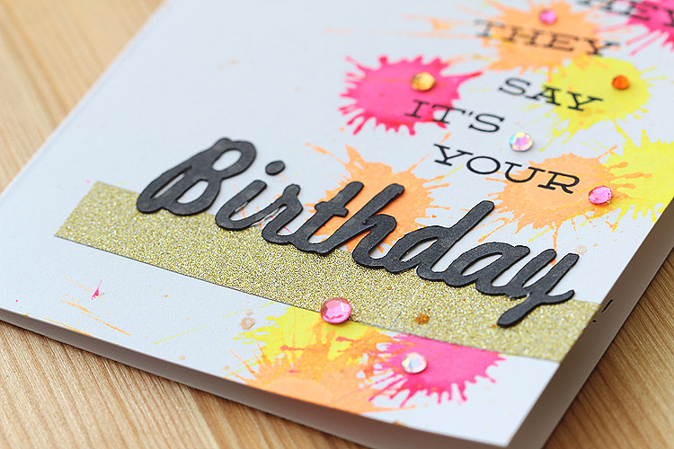they say it's your birthday! by Lisa Spangler