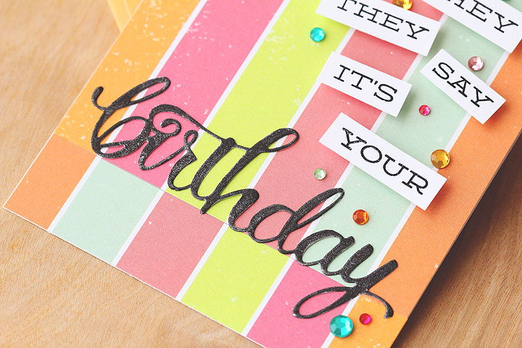 They Say It's Your Birthday by Lisa Spangler
