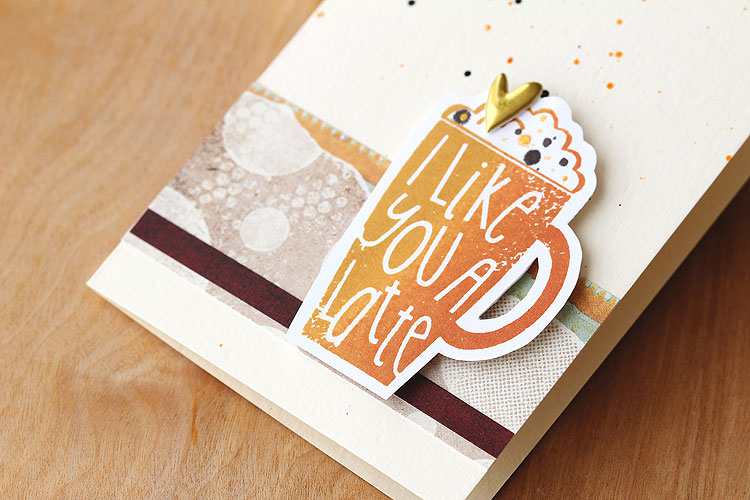 I like you a latte by Lisa Spangler