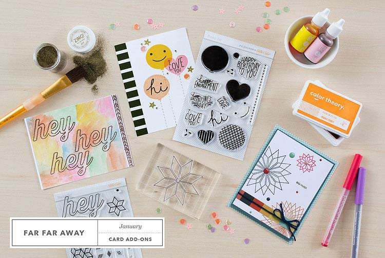 Studio Calico January Add-on Stamps