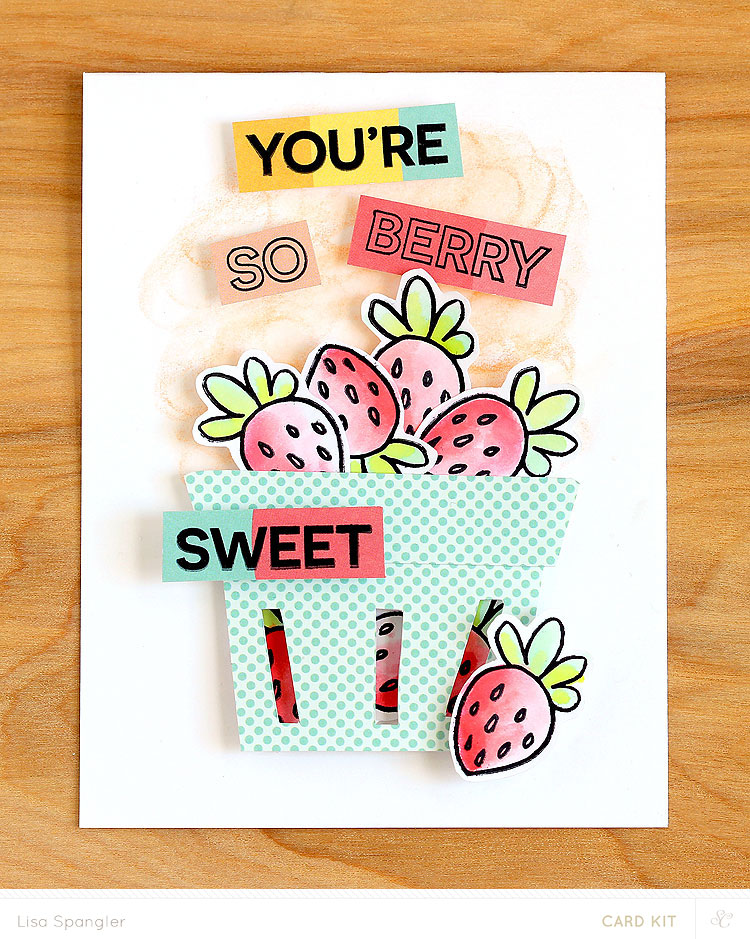 You're So Berry Sweet by Lisa Spangler for Studio Calico