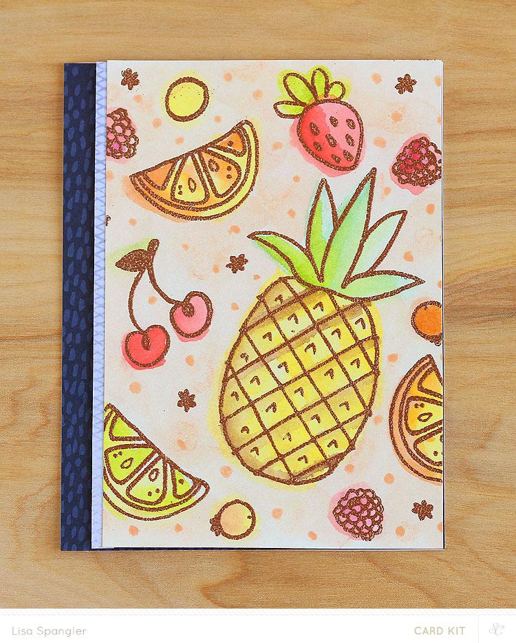 Fruit Cocktail by Lisa Spangler for Studio Calico