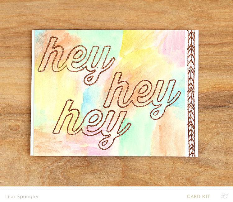 Hey Hey Hey by Lisa Spangler for Studio Calico