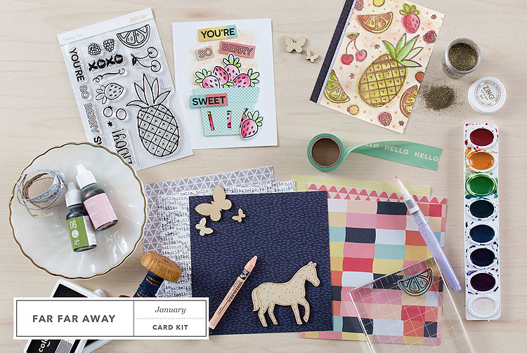Studio Calico Far Far Away Card Kit