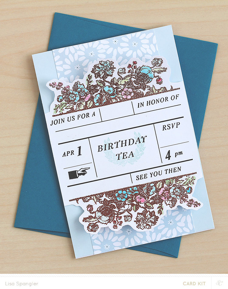 Birthday Tea by Lisa Spangler for Studio Calico