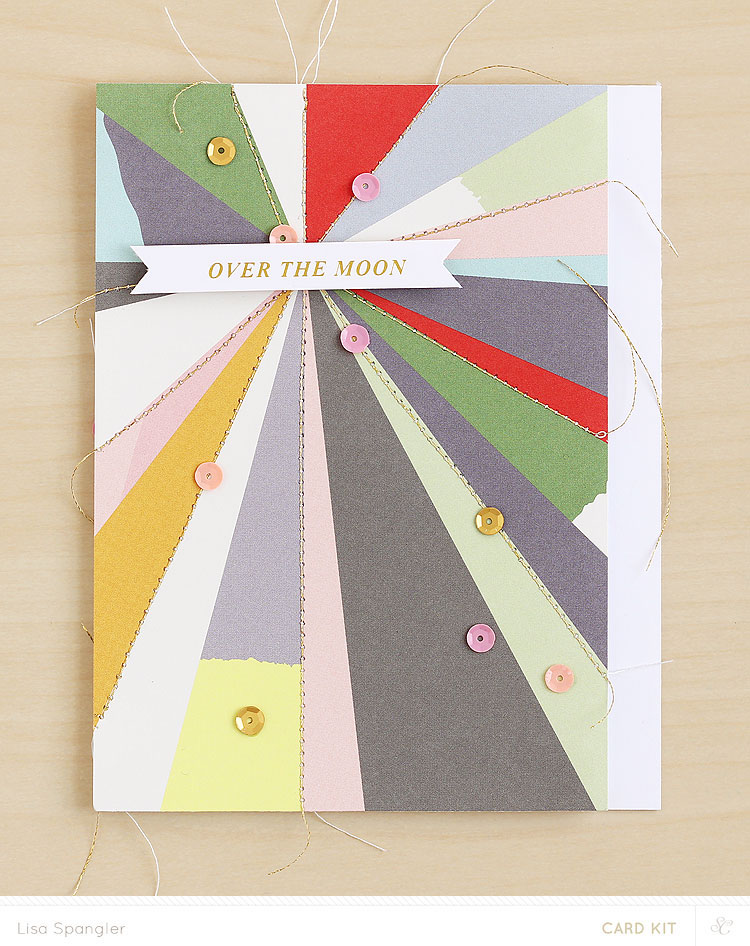 Over the Moon by Lisa Spangler for Studio Calico