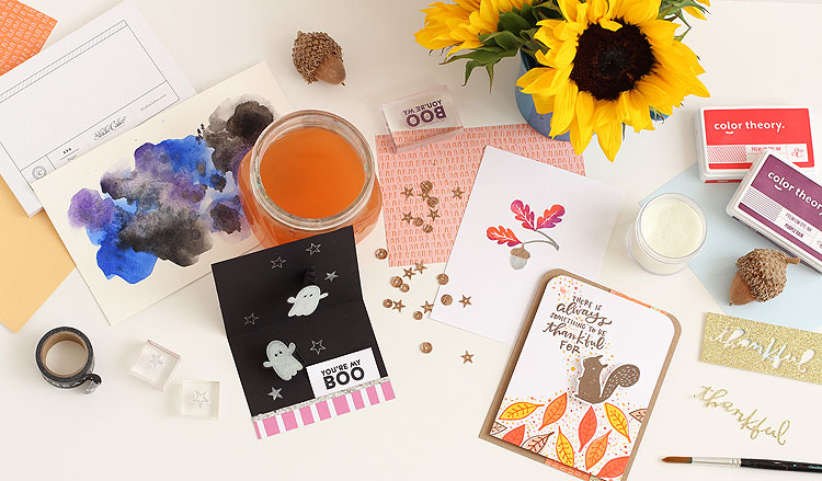 Fall Cardmaking at Studio Calico