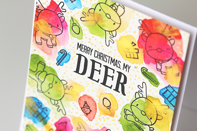 Merry Christmas, My Deer by Lisa Spangler