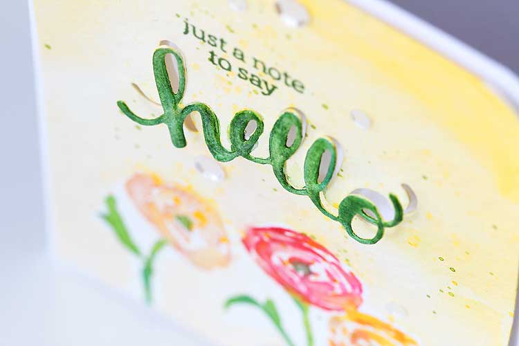 Just a Note to Say Hello by Lisa Spangler