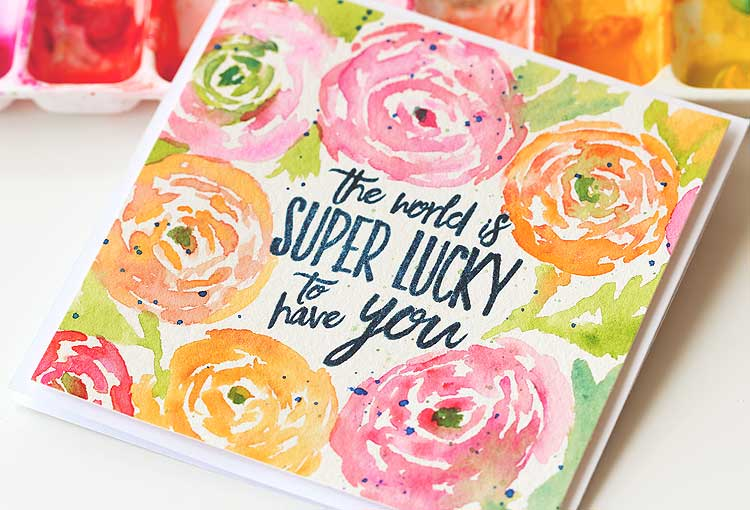 The World Is Super Lucky to Have You by Lisa Spangler