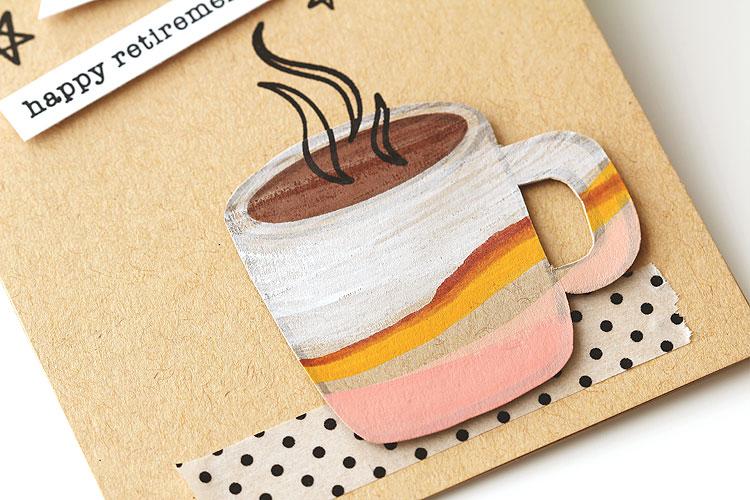 Gouache Mug by Lisa Spangler