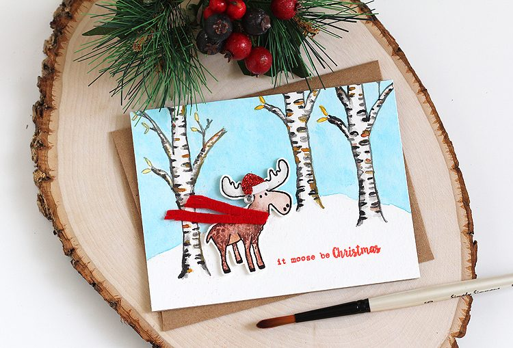 It Moose Be Christmas by Lisa Spangler