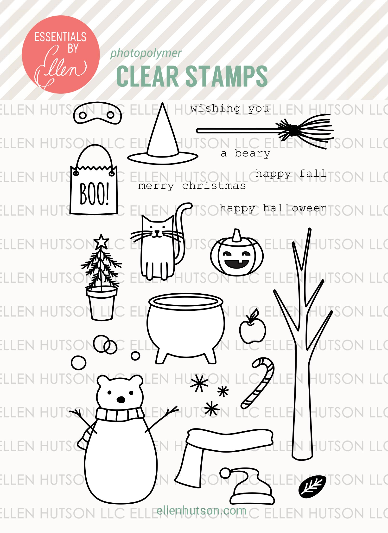 Bear Ware 2 Stamps