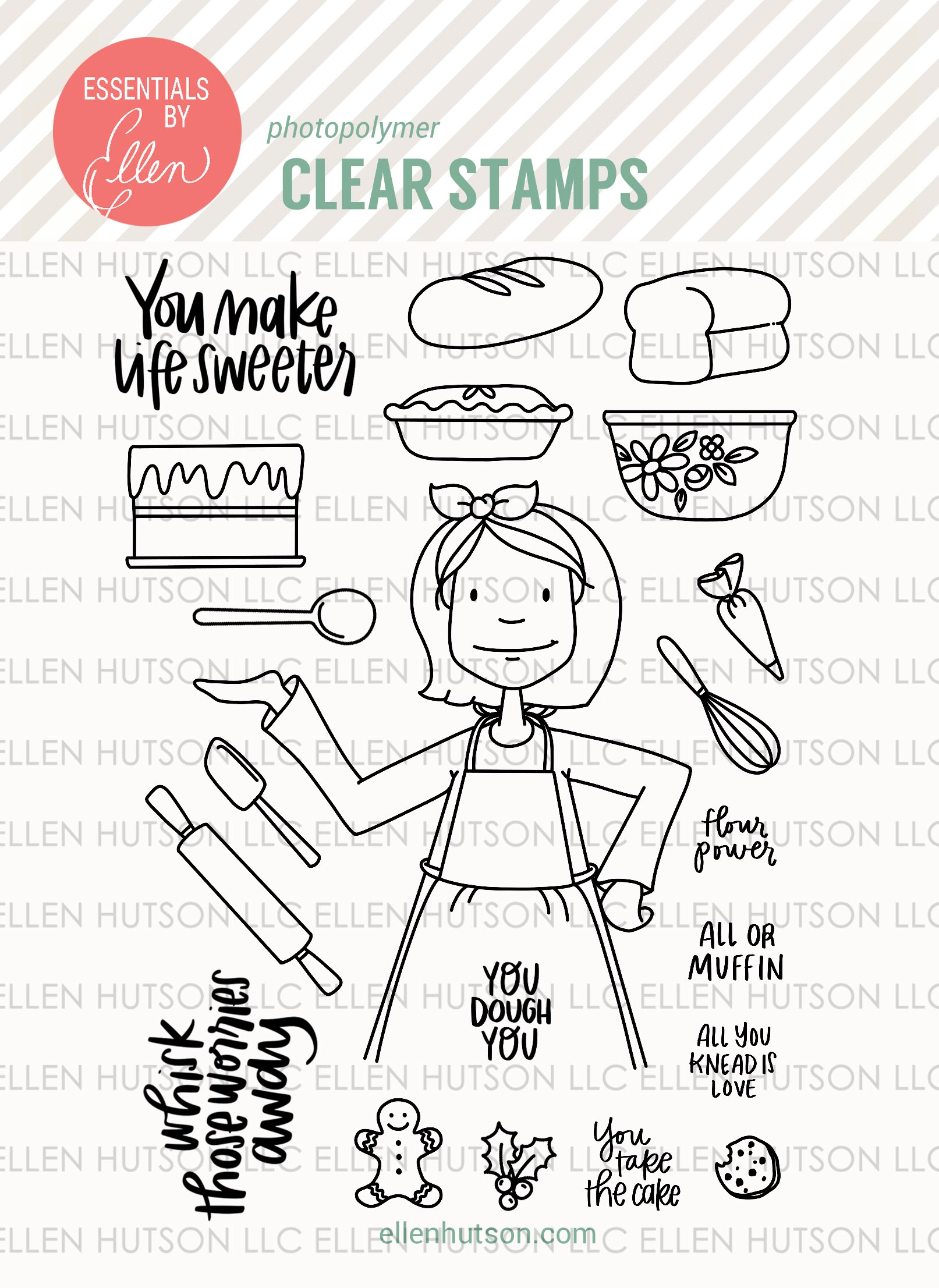 Leading Ladies Stamps