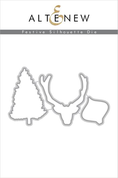Festive Silhouette Dies (Altenew)