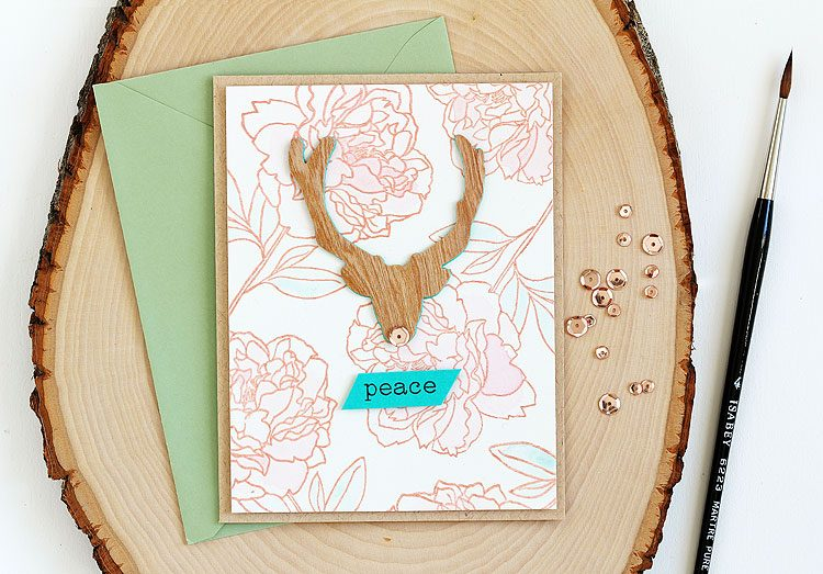 Peace by Lisa Spangler for Altenew