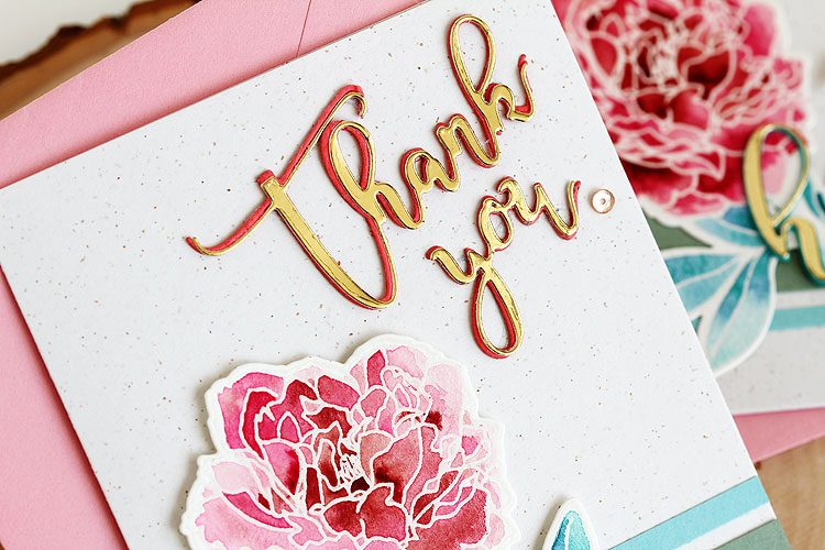 Thank You by Lisa Spangler for Altenew