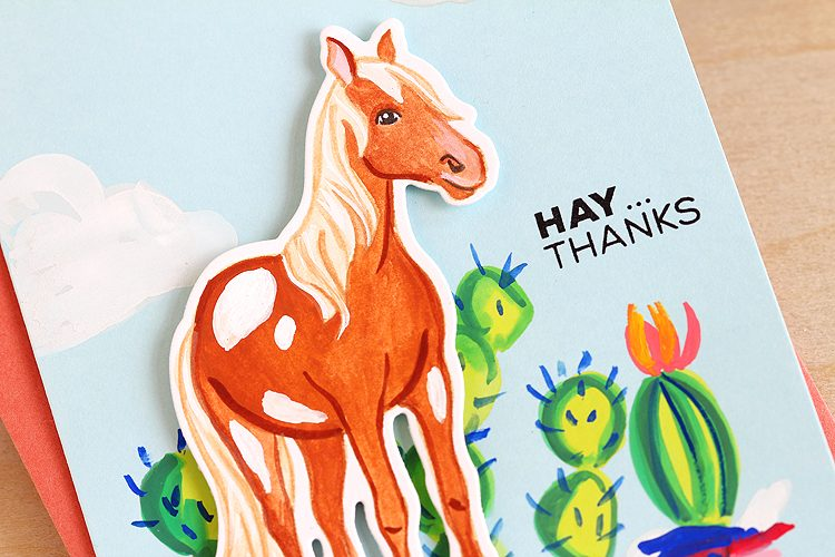 Hay Thanks by Lisa Spangler