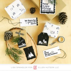 12 Tags of Christmas with a Feminine Twist: Day 7: Black & White! (+ GIVEAWAY!)