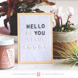 Essentials by Ellen Letter Board!