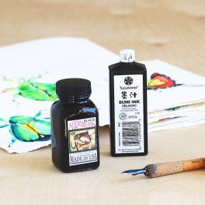 Dip Pens for Nature Sketching