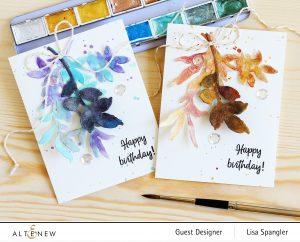 Altenew Metallic Watercolor 14 Pan Set Release Blog Hop + Giveaway